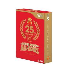 Jogo Super Mario All Stars (Limited Edition) - Wii