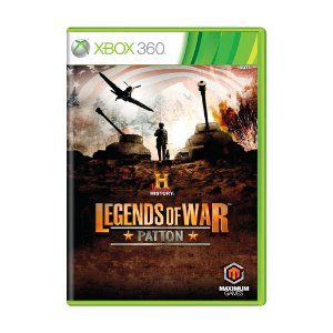 Jogo History Legends of War: Patton - Xbox 360