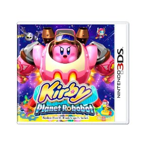 Jogo Kirby: Planet Robobot - 3DS