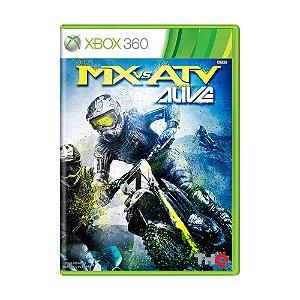 Jogo MX vs. ATV Alive - Xbox 360