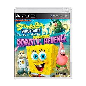 Jogo SpongeBob SquarePants: Plankton's Robotic Revenge (Bob Esponja) - PS3