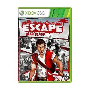 Jogo Escape Dead Island - Xbox 360