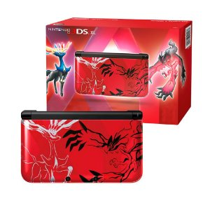Console Nintendo 3DS XL (Pokémon X & Y Red Edition) - Nintendo