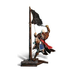 Estátua Assassin's Creed IV: Black Flag (Edward Kenway) - Ubisoft