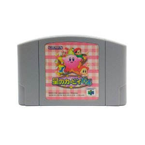 Jogo Kirby 64: The Crystal Shards - N64