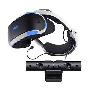 PlayStation VR + PlayStation Câmera - PS4 VR - Sony