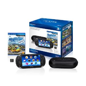 Console PlayStation Vita 4GB + Case + Jogo ModNation Racers: Roadtrip - Sony