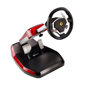 Volante Thrustmaster Ferrari GT Cockpit 430 (Scuderia Edition) - PS3 e PC