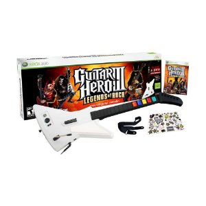 Jogo Guitar Hero III: Legends of Rock + Guitarra - Xbox 360