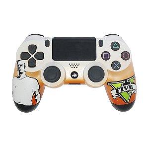 Controle Sony Dualshock 4 Trevor GTA V sem fio - PS4