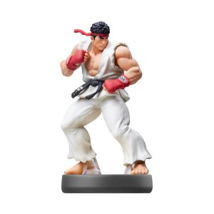 Nintendo Amiibo: Ryu - Super Smash Bros - Wii U e New Nintendo 3DS