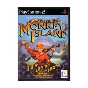 Jogo Escape from Monkey Island - PS2