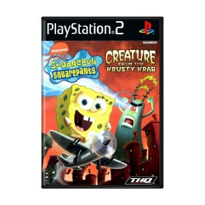 Jogo SpongeBob SquarePants: Creature from the Krusty Krab - PS2