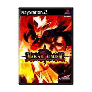 Jogo Makai Kingdom: Chronicles of the Sacred Tome - PS2