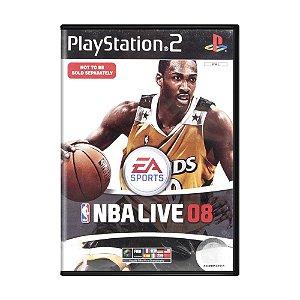 Jogo NBA Live 08 - PS2