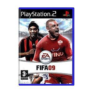 Jogo FIFA 09 - PS2 (Europeu)
