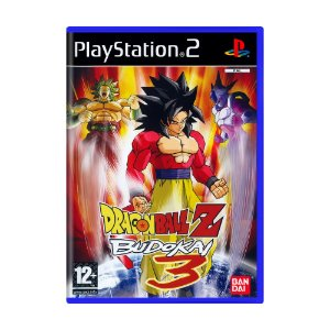 Jogo Dragon Ball Z: Budokai 3 - PS2 [Europeu]