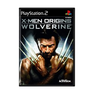 Jogo X-Men Origins: Wolverine - PS2