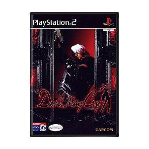 Jogo Devil May Cry - PS2 (Europeu)