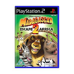 Jogo Madagascar: Escape 2 Africa - PS2