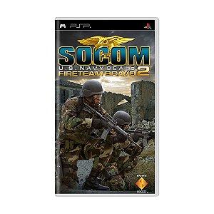 Jogo SOCOM: U.S. Navy SEALs Fireteam Bravo 2 - PSP