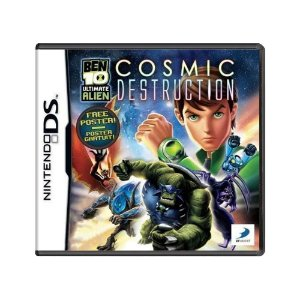 Jogo Ben 10 Ultimate Alien: Cosmic Destruction - DS