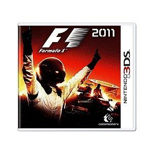 Jogo Fórmula 1 2011 - 3DS