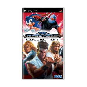 Jogo Sega Mega Drive Collection - PSP