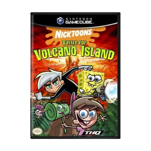 Jogo Nicktoons: Battle for Volcano Island - GameCube