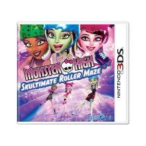 Jogo Monster High: Skultimate Roller Maze - 3DS