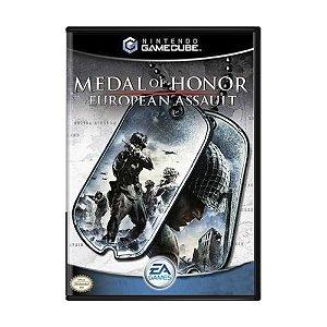 Jogo Medal of Honor: European Assault - GameCube