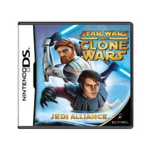 Jogo Star Wars The Clone Wars: Jedi Alliance - DS