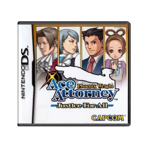 Jogo Phoenix Wright: Ace Attorney Justice for All - DS