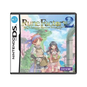 Jogo Rune Factory 2: A Fantasy Harvest Moon - DS