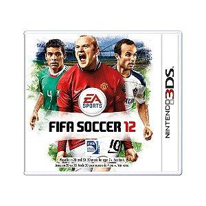 Jogo FIFA Soccer 12 - 3DS
