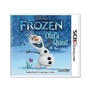 Jogo Disney Frozen: Olaf's Quest - 3DS