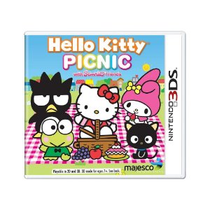 Jogo Hello Kitty Picnic - 3DS