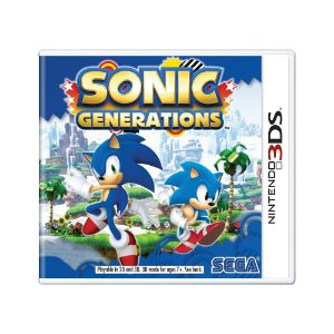 Jogo Sonic Generations - 3DS