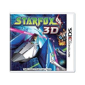 Jogo Starfox 64 3D - 3DS