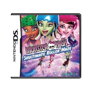 Jogo Monster High: Skultimate Roller Maze - DS