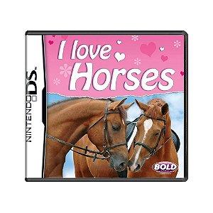 Jogo I Love Horses - DS