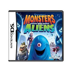 Jogo Monsters Vs Aliens - DS (Europeu)