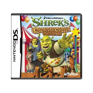 Jogo  Shrek's Carnival Craze: Party Games - DS