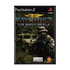 Jogo SOCOM 3: U.S. Navy SEALs - PS2