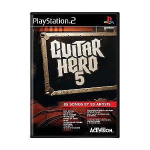 Jogo Guitar Hero 5 - PS2