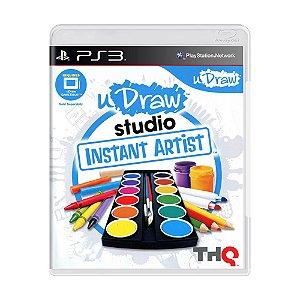 Jogo uDraw Studio: Instant Artist - PS3