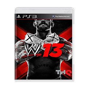 Jogo WWE 13 - PS3