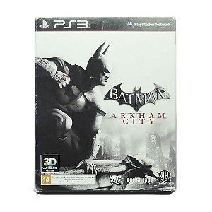 Jogo Batman Arkham City + História em Quadrinhos - PS3