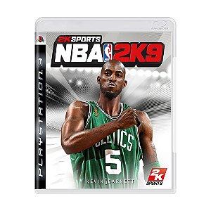 Jogo NBA 2K9 - PS3