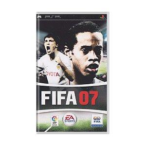 Jogo FIFA Soccer 07 - PSP